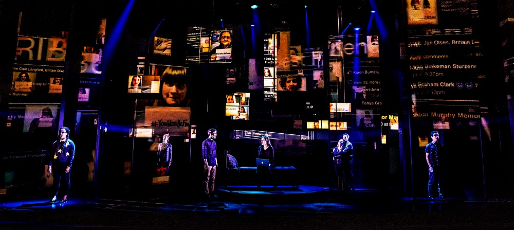 The company of the first North American tour of Dear Evan Hansen. Photo by Matthew Murphy