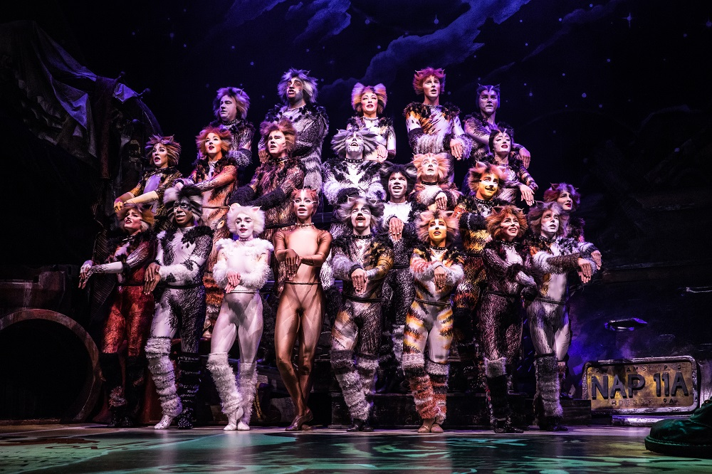 The North American Tour Company of CATS. Photo by Matthew Murphy.