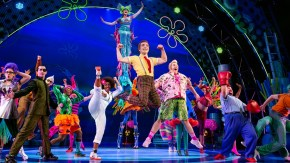 The SpongeBob Musical cast on stage