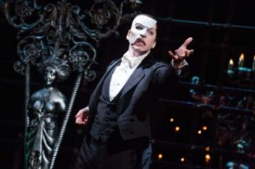 James Barbour in 'The Phantom of the Opera'