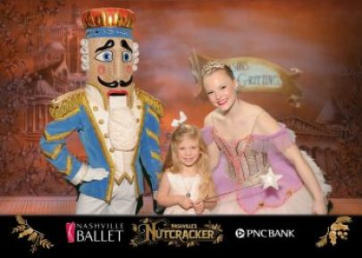 Memories made at 'Nashville's Nutcracker' PNC Bank photobooth
