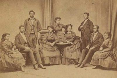 Fisk Jubilee Singers, circa 1870s Library of Congress.