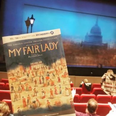 Opening night at TPAC's recent production of 'My Fair Lady.'
