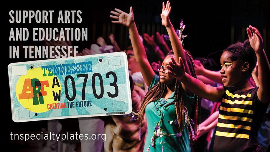 Support the Arts and Education in Tennessee with a Specialty License Plate