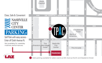 Close, Safe, & Convenient Nashville City Center Parking: Self Park with easy access - enter off 6th Avenue North