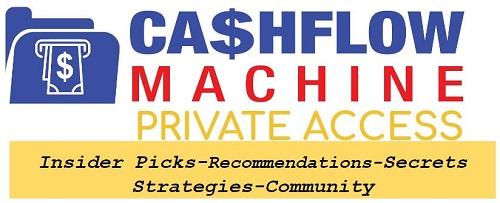 CashFlowMachine Private Access Group