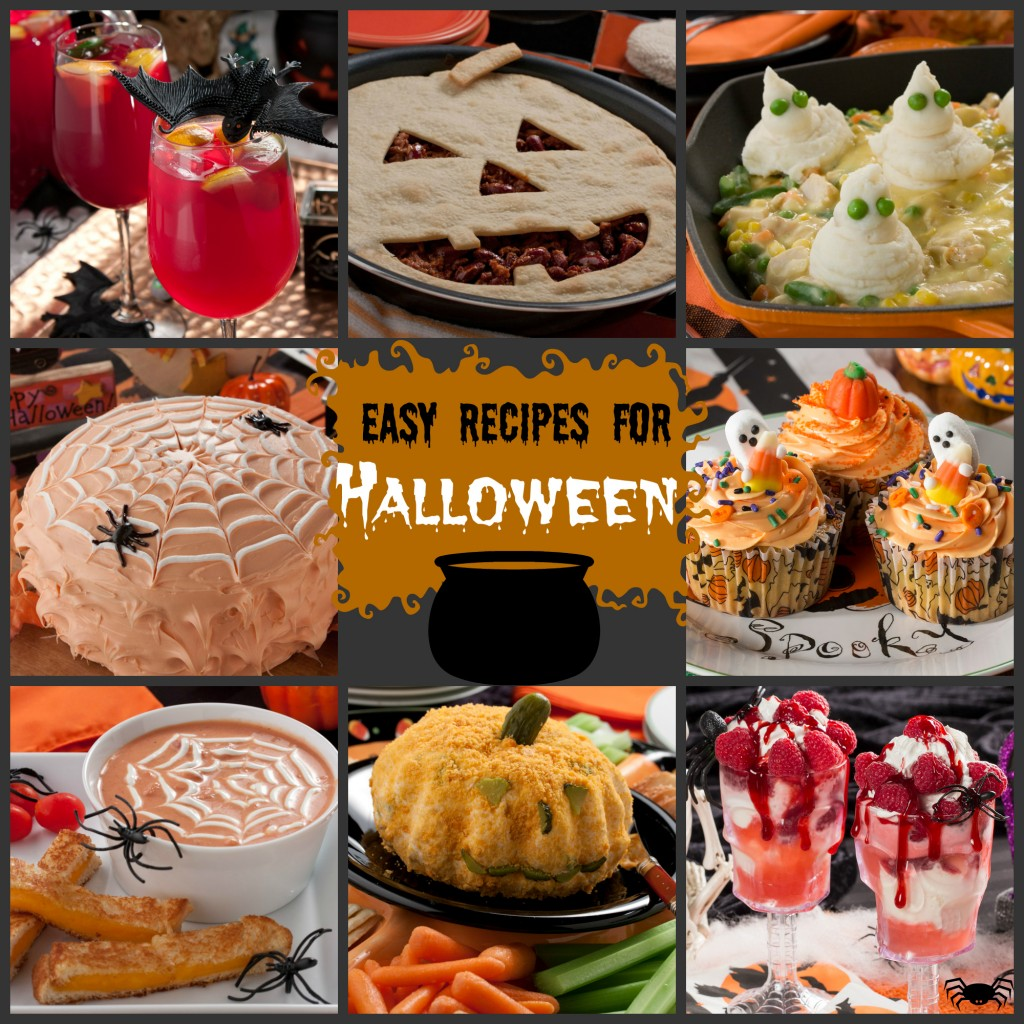 fun and easy halloween recipes