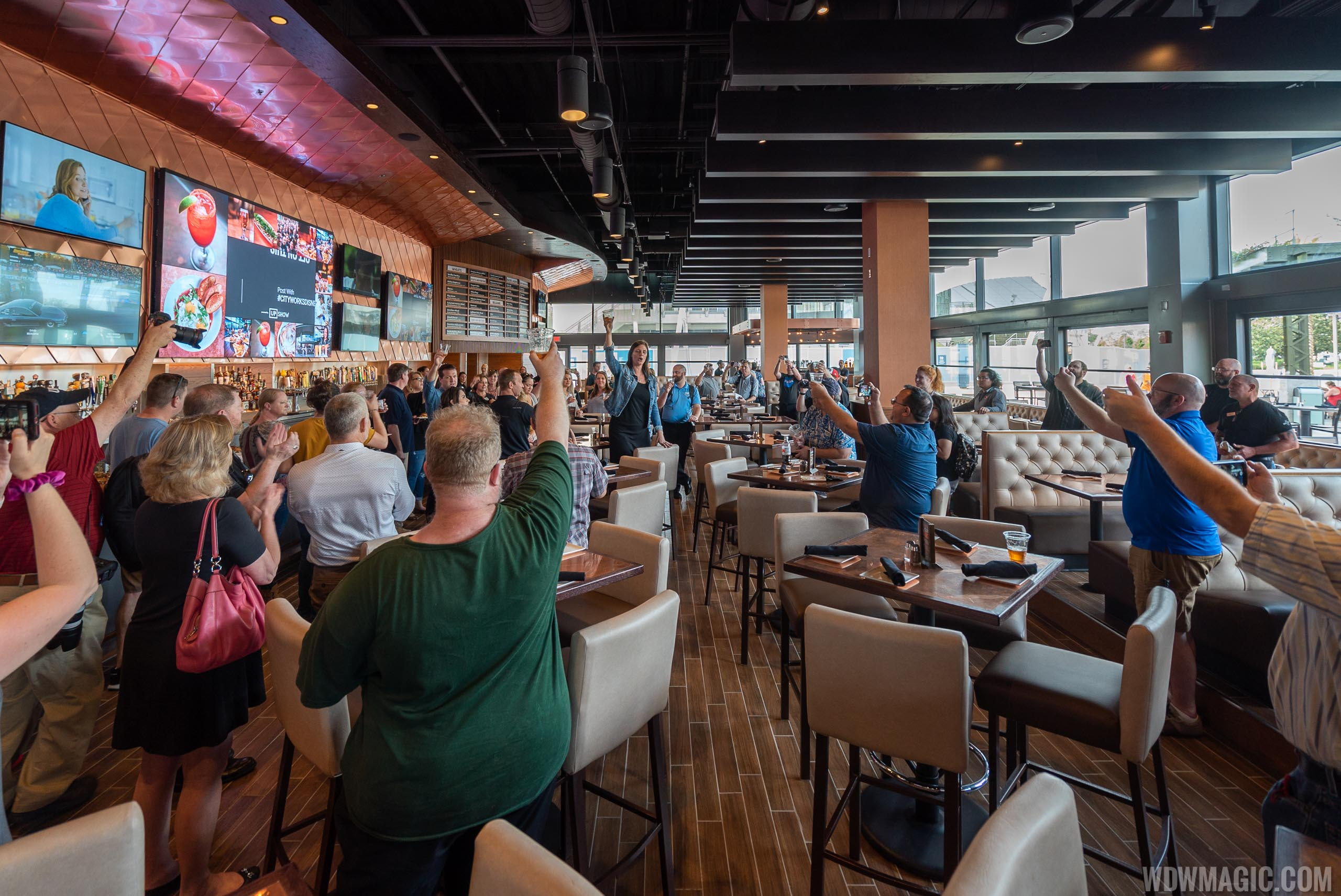 PHOTOS - First look at the new City Works Eatery and Pour House at Disney Springs