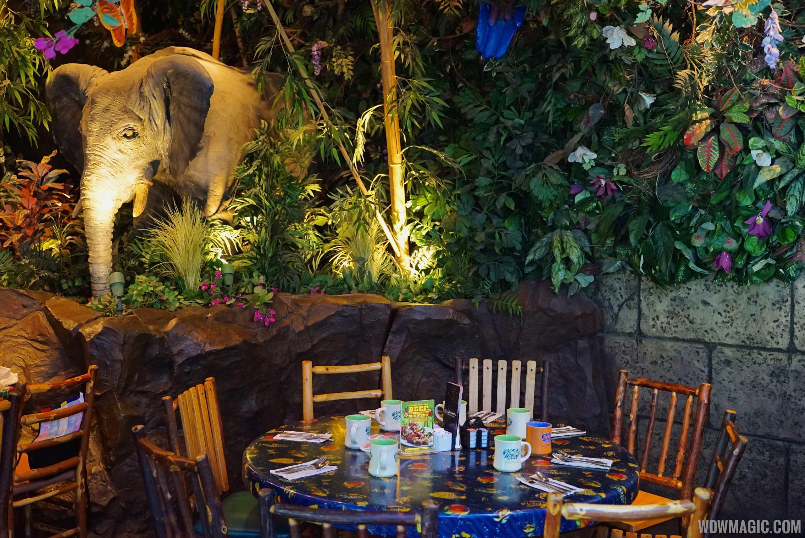 Rainforest Cafe Animal Kingdom