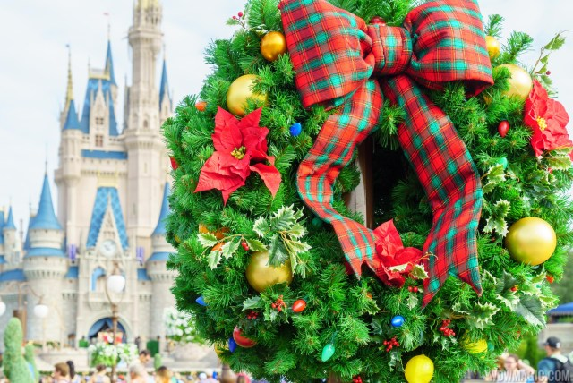 last few days to catch disney world s holiday decorations - Disney World Christmas Decorations 2017