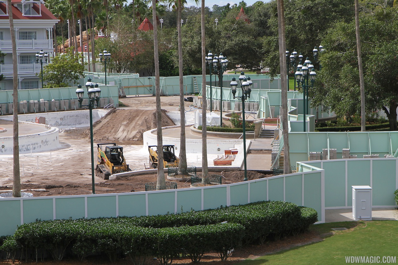 Grand Floridian Courtyard Pool Refurbishment - 4 Of