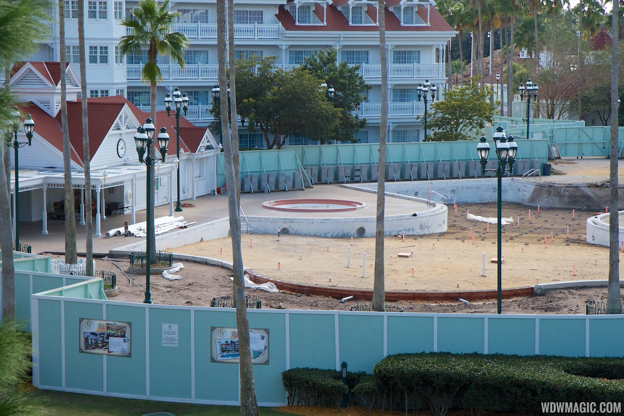 Grand Floridian Courtyard Pool Refurbishment - 2 Of 3