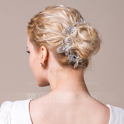Image result for gold wedding hair adornments