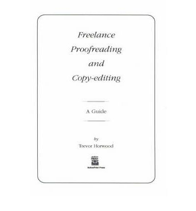 Freelance Proofreading and Copyediting