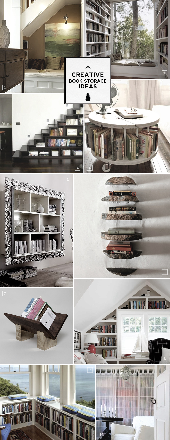 Creative Book Storage Ideas: From Nooks to Staircases
