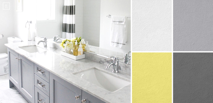 bathroom color ideas palette