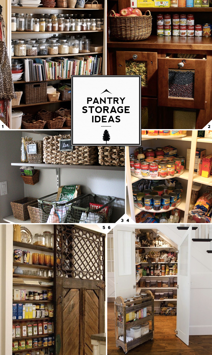 The Walk in Closet of the Kitchen Pantry Storage Ideas
