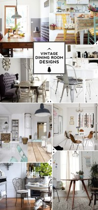Vintage Dining Room Design Ideas | Home Tree Atlas