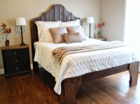 15 Ideas and Secrets For Making DIY Wooden Headboards Look ...