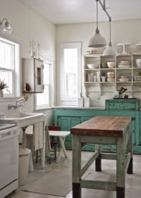 Before and After: Shabby Chic to Modern Vintage Kitchen ...