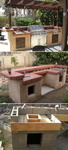 diy outdoor patio kitchen ideas Design Your Space: Outdoor Kitchen Ideas   Home Tree Atlas