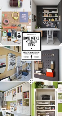 The Command Center: Home Office Organization and Storage ...
