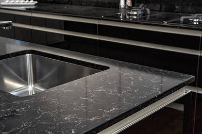 modern kitchen light garbage benchtops - consumer nz
