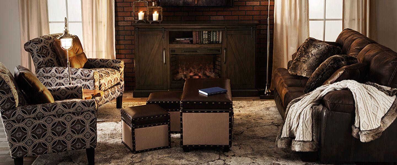 lodge living room furniture pics of rooms shop the look bobs com 1