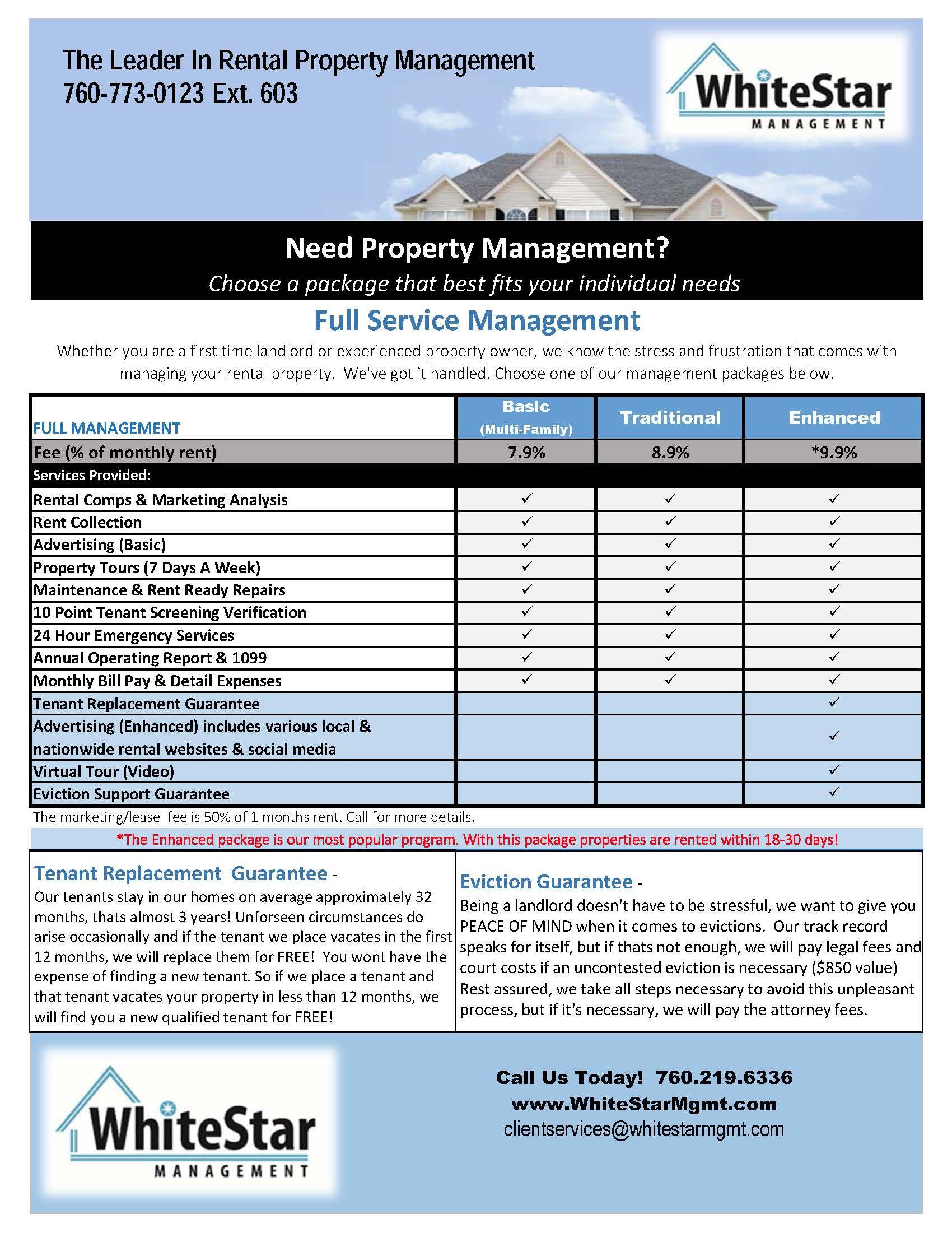 1 Whitestar Management Services