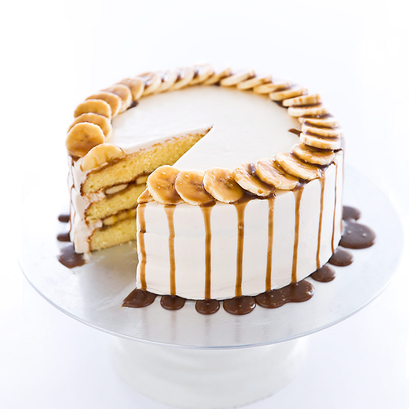 Bananas Foster Cake Cooks Country