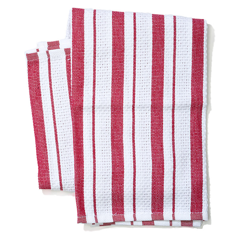 kitchen dish towels display system the best cook s illustrated