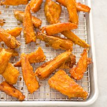 Thick-cut Sweet Potato Fries Recipe - Cook' Illustrated