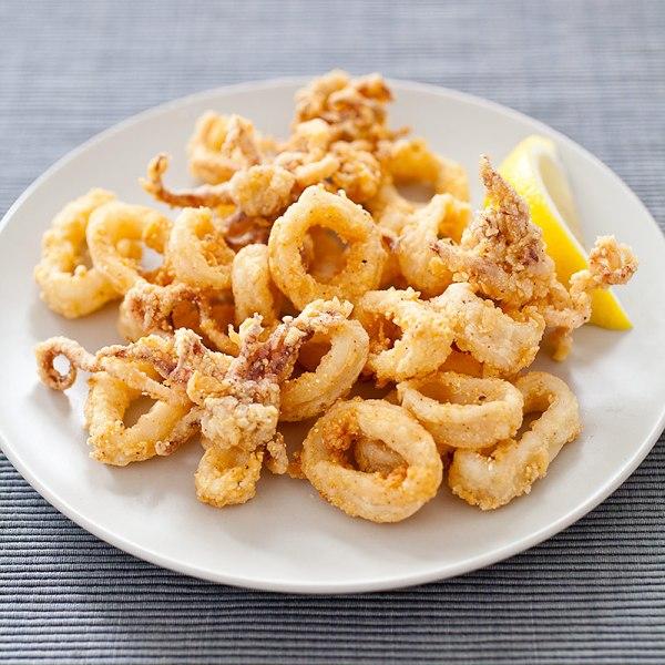 Fried Calamari America39s Test Kitchen