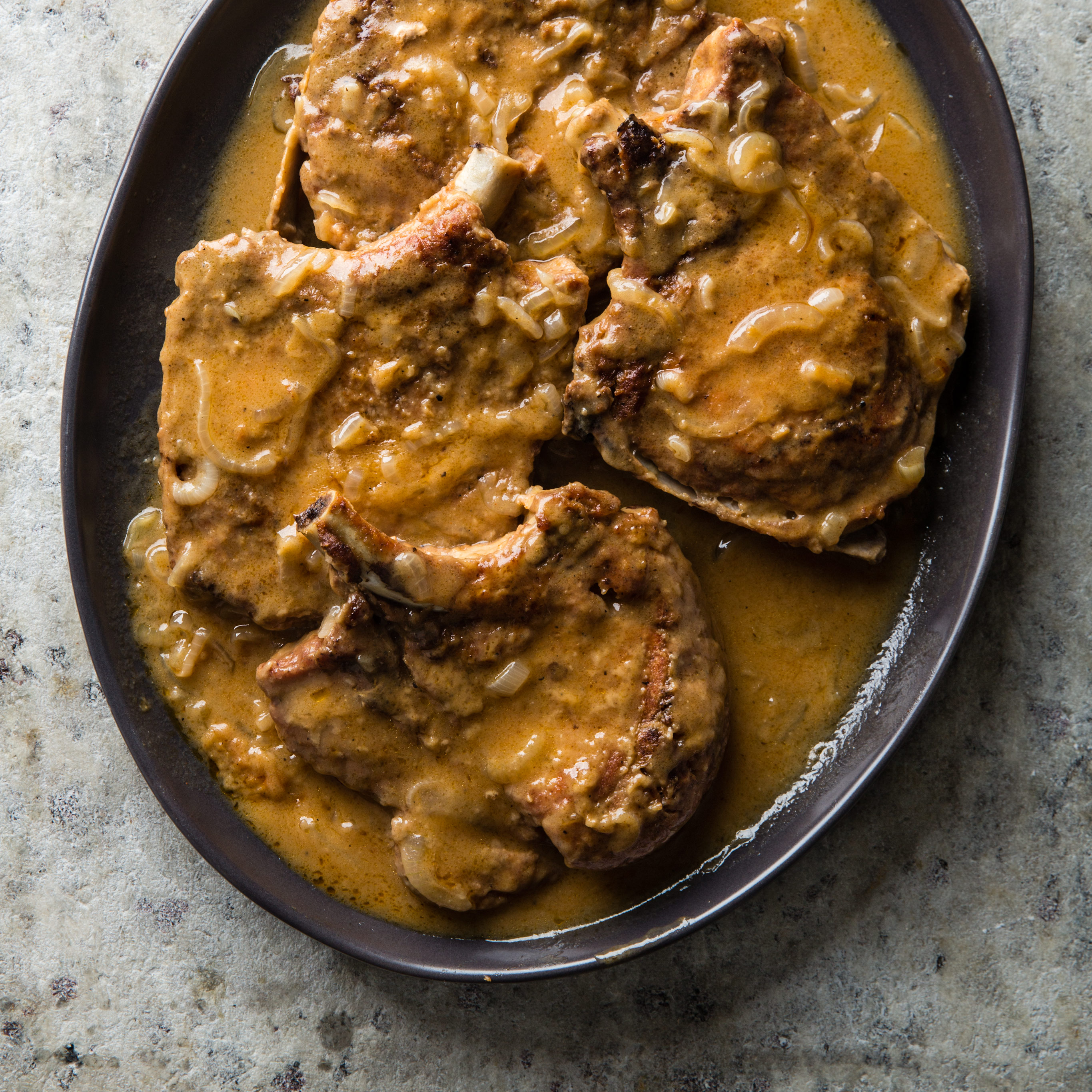 Southern Style Smothered Pork Chops Cooks Country