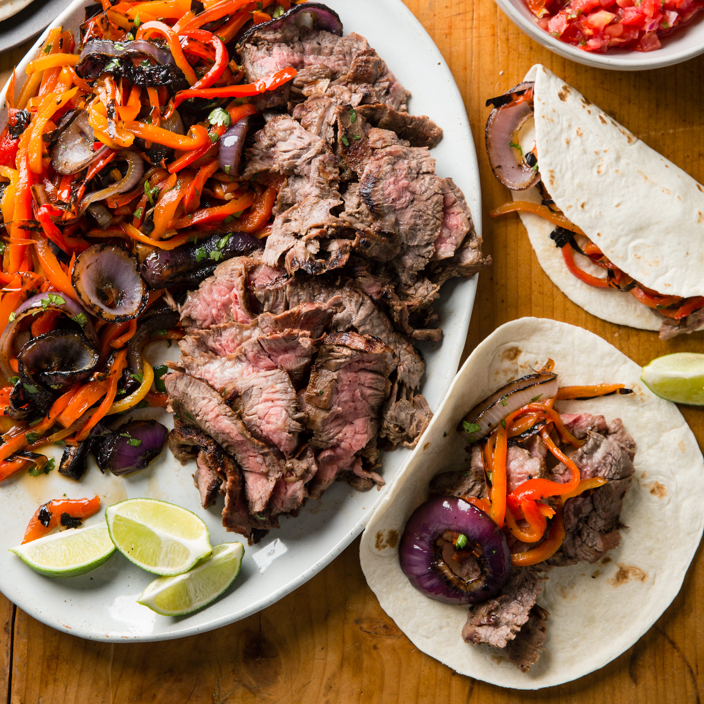 Grilled Steak Fajitas Cooks Country