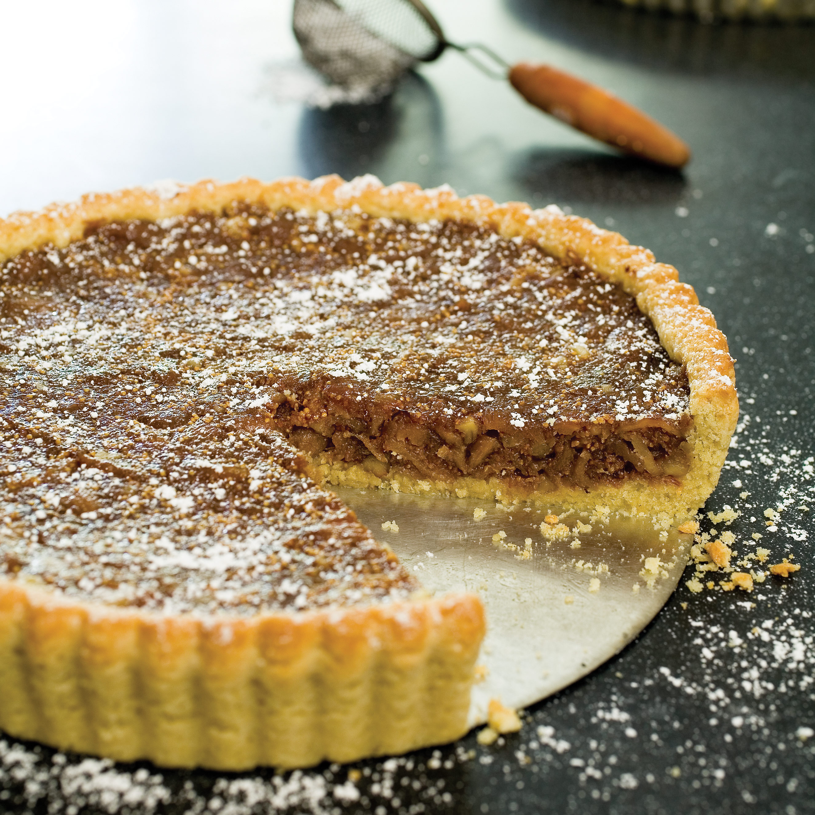FigWalnut Tart Recipe  Cooks Illustrated