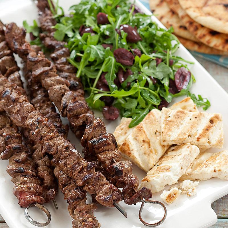 Greek Beef Kebabs  Cooks Country