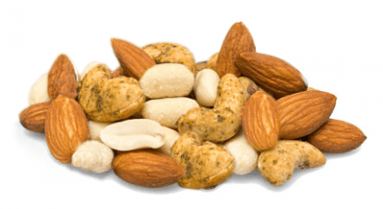 image of punchy protein nuts