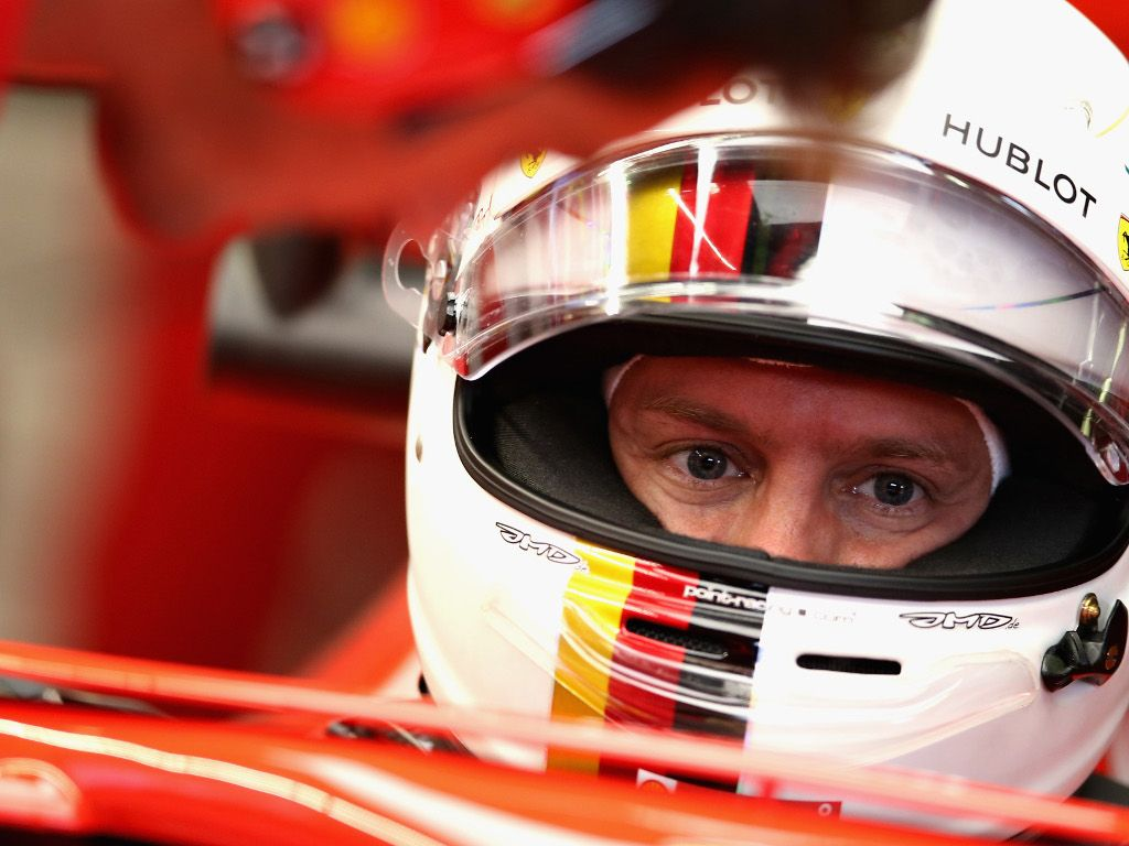 ferrari office chair dining back covers sebastian vettel tries out his 2019 planetf1