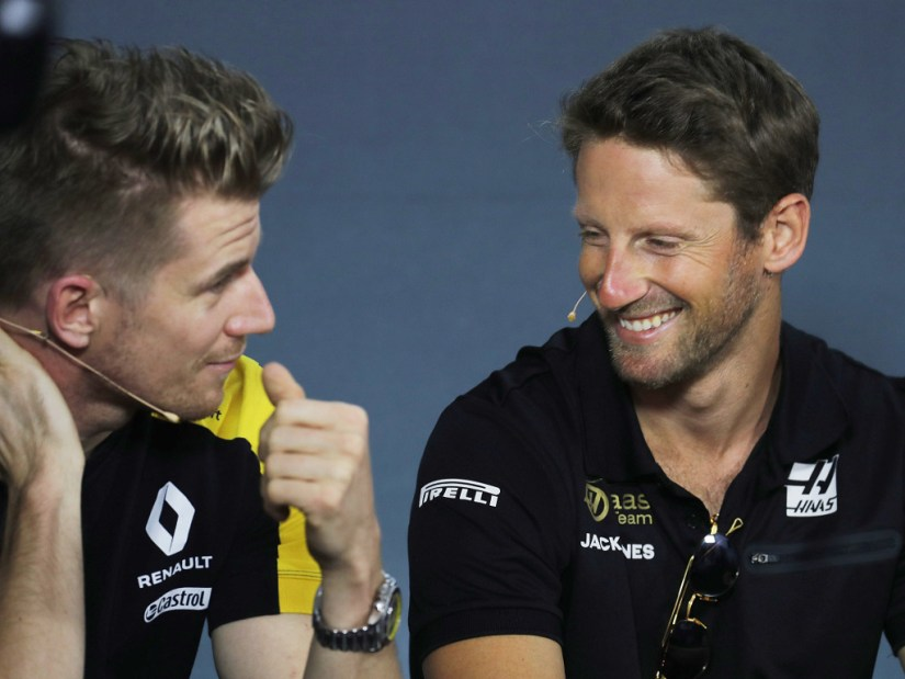 Nico-Hulkenberg-and-Romain-Grosjean-PA