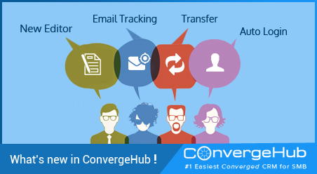 What's new in ConvergeHub (Release Update on 28th December 2015)