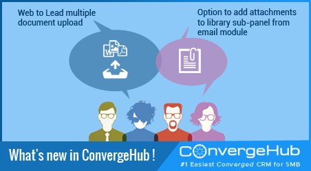 What's new in ConvergeHub (Release Update on 18th March 2016)