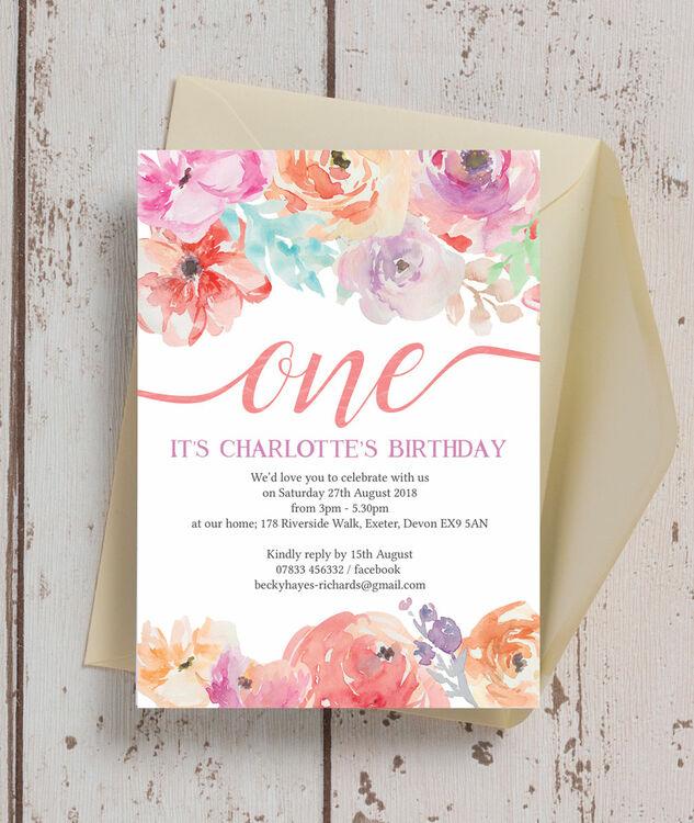 free printable birthday party invites