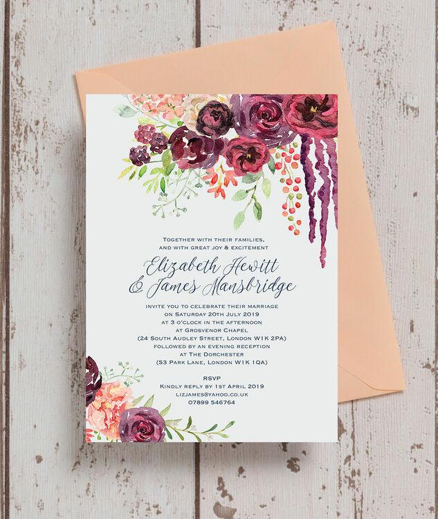 Design Your Own Wedding Invitations Online