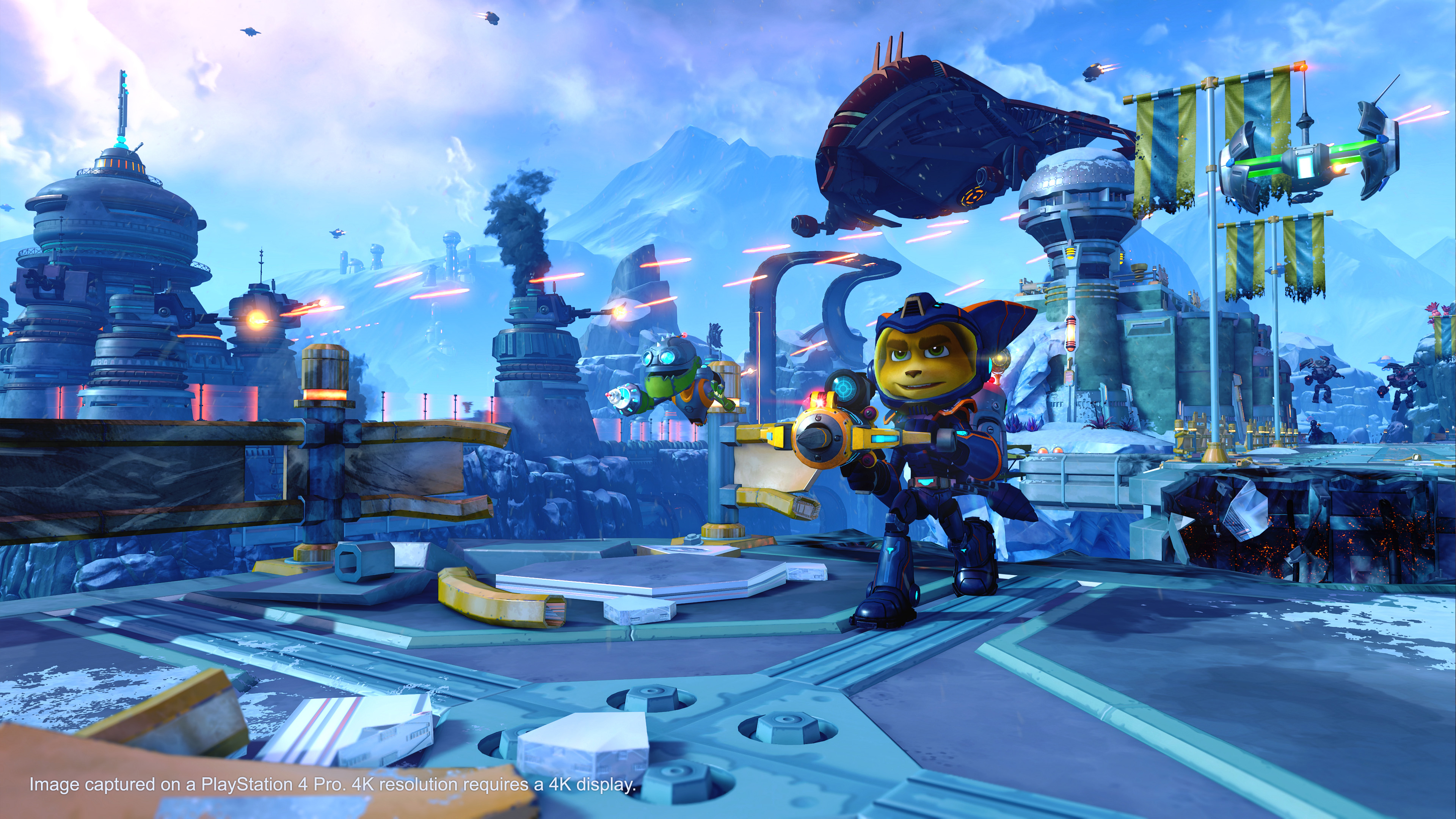 Ratchet Amp Clank PS4 Insomniac Games