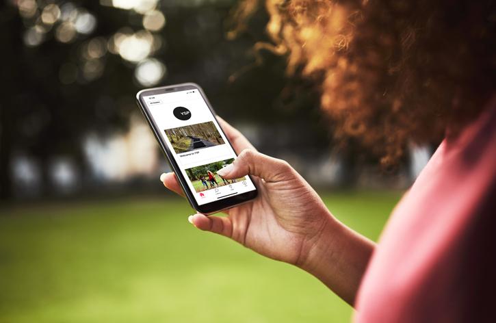 L'application Bloomberg Connects au Yorkshire Sculpture Park