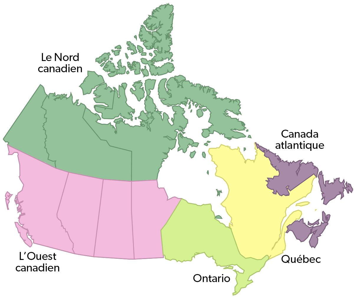 Economie Regionale Au Canada