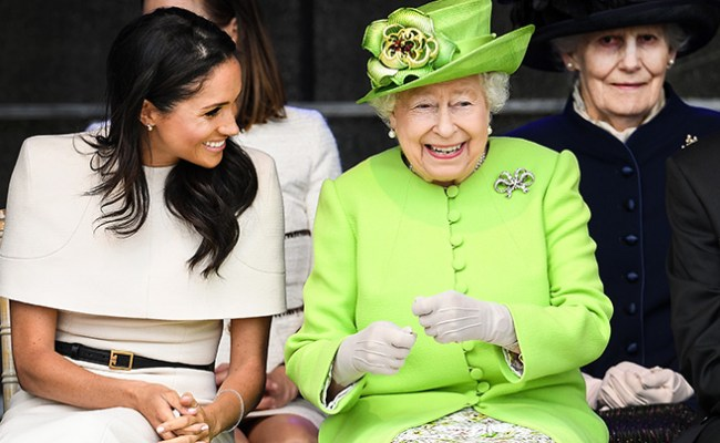 Queen Elizabeth And Meghan Markle Love Tea And Toast Purewow