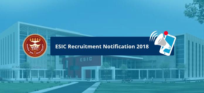 ESIC Notification 2018