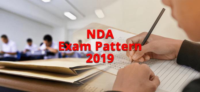 NDA Exam Pattern 2019